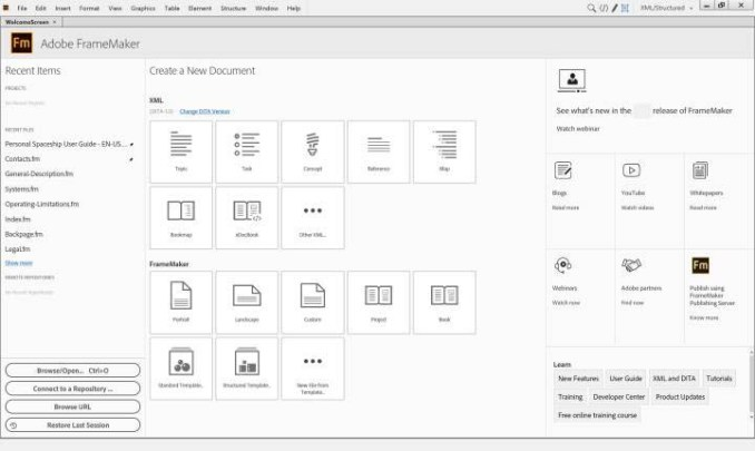 Adobe FrameMaker latest version