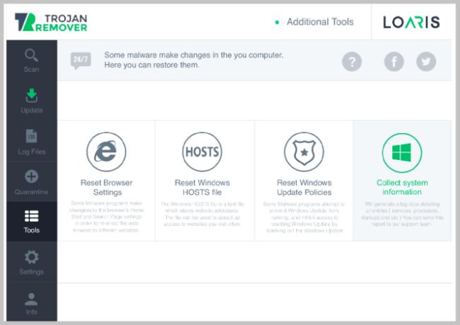 Loaris Trojan Remover latest version