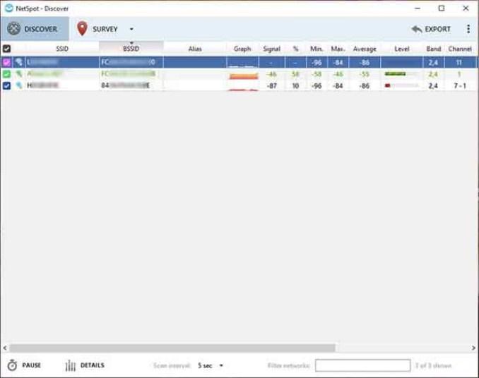 NetSpot Unlimited Enterprise windows