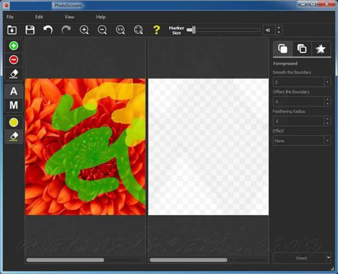 Teorex PhotoScissors windows