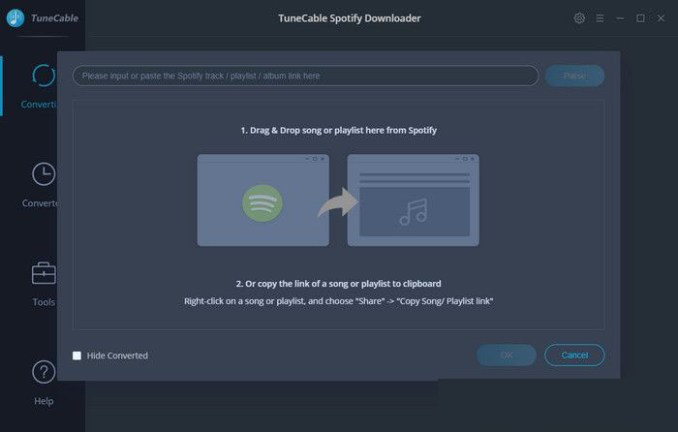 TuneCable Spotify Downloader windows