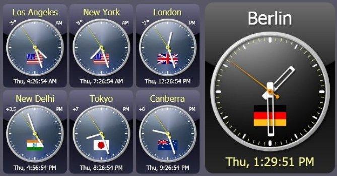 Sharp World Clock latest version