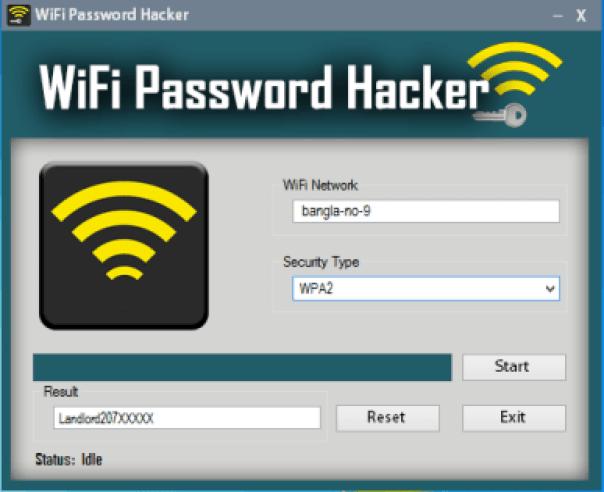 WiFi Password Hacker windows