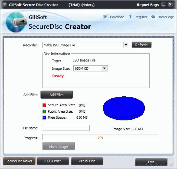 Gilisoft Secure Disk Creator windows