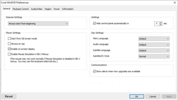 Corel WinDVD Pro latest version