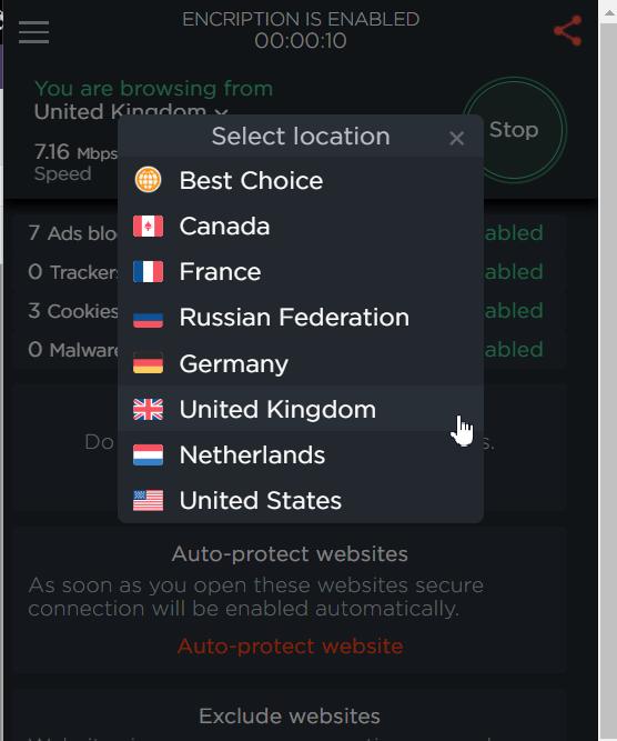 برنامج Touch VPN واحد من أفضل برامج VPN للكومبيوتر