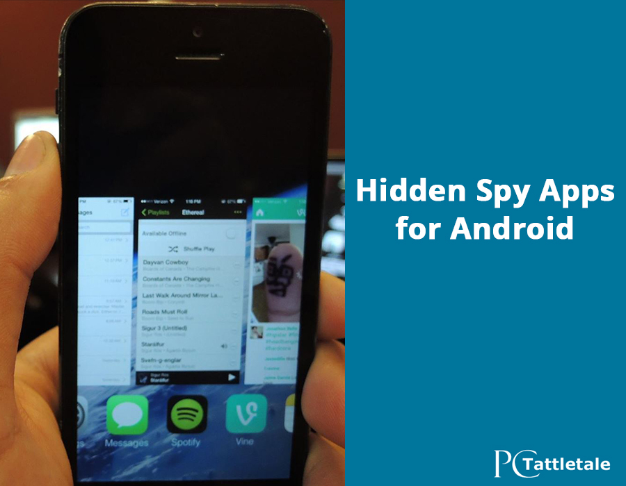 Locating Spyware on Android