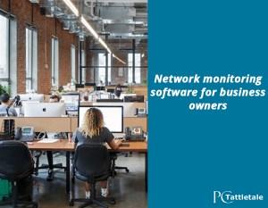network monitoring software