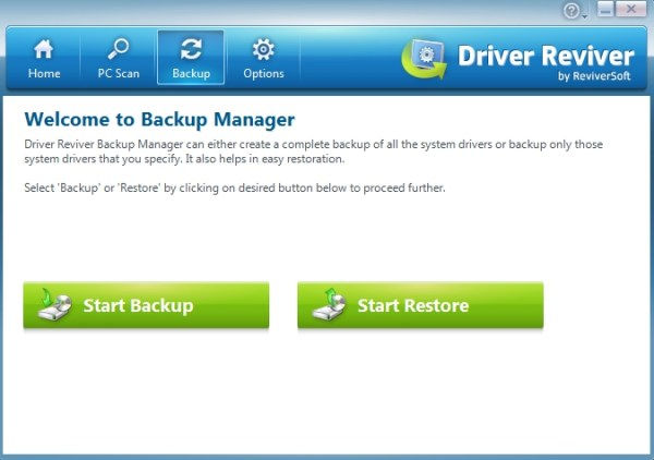 Driver Reviver Backup