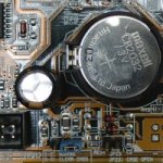 CMOS – complementary metal oxide silicon – RAM chips on motherboards