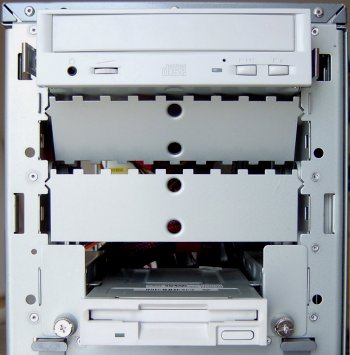 CD-RW Installation Mounting