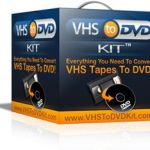 Labelling your DVDs – tutorial on how to transfer your VCR tapes to DVD