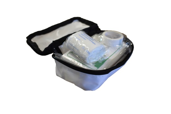 open white first aid kit small