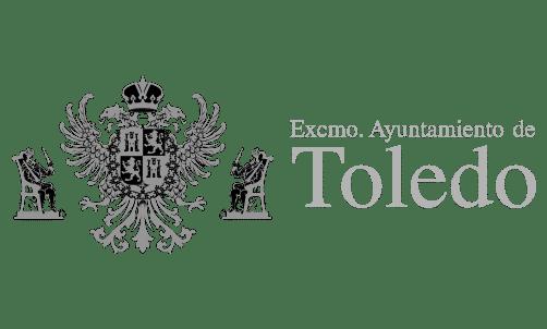 Grey logo from Toledo City Hall