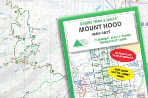 Green Trails Oregon Maps