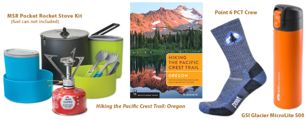 PCT: Oregon Holiday Gear Giveaway