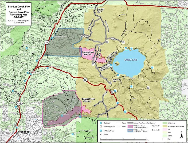 spruce lake map