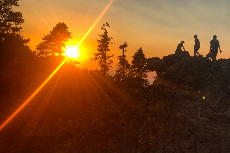 pct sunset