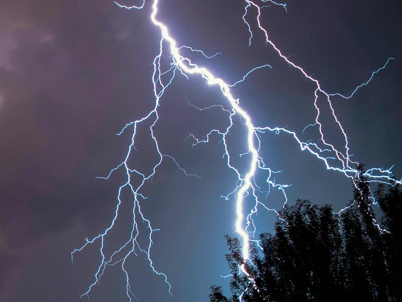 wilderness survival thunderstorm