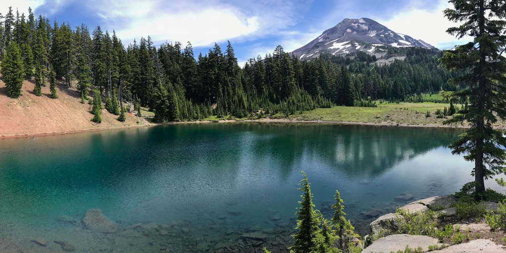 reese lake three sisters wilderness oregon
