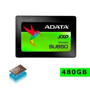 disco duro ssd 480gb adata interno asu650ss 480gt-c