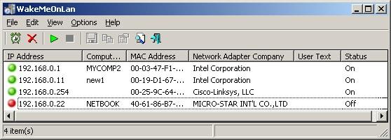 nirsoft wol utility software