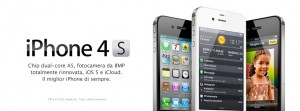 iphone 4s a partire da 20 euro al mese