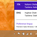 cambiare lingua su Windows