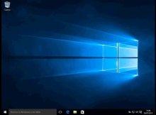 in questa immagine è presente lo sfondo del desktop di windows 10