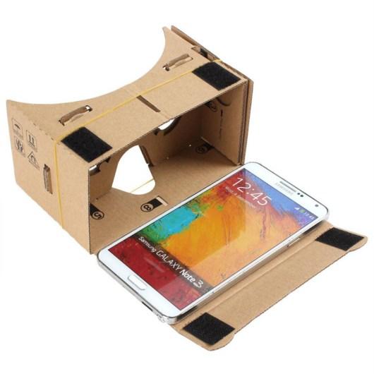 visore google cardboard