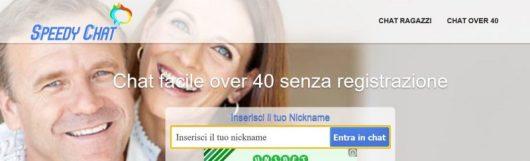 Speedy Chat è un sito per chat over 40