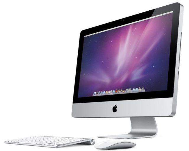 iMac con tastiera e mouse della Apple