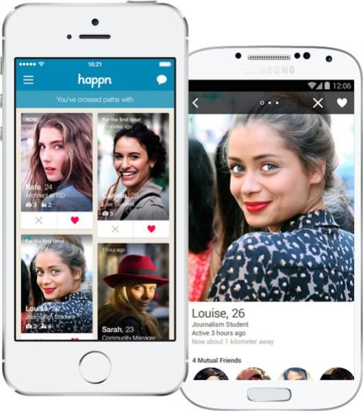 Happn è una delle app simili a Tinder