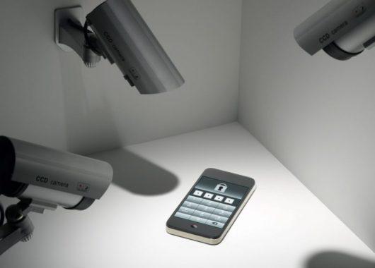 telecamere che puntano un iphone