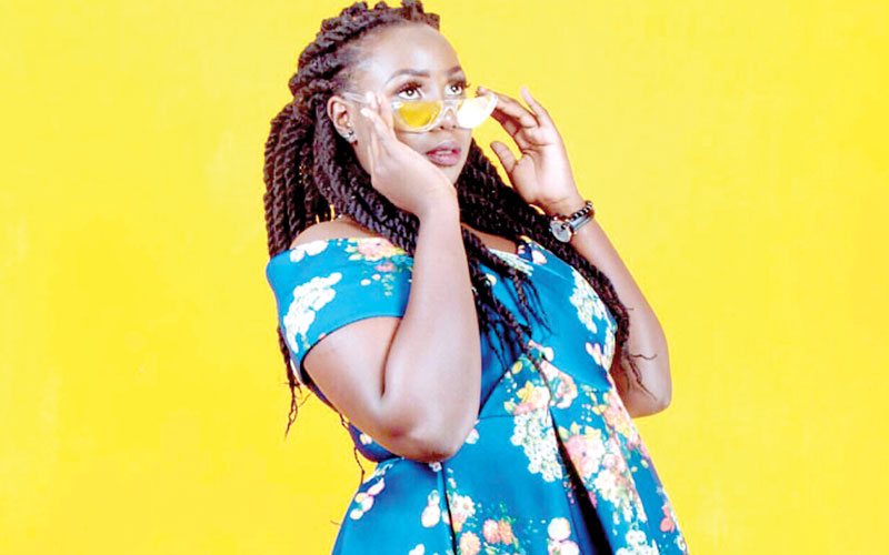 Upcoming comedian Chebet Rono perfects the art online - People Daily