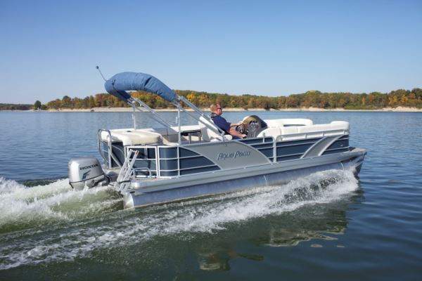 aqua patio 220 pontoon deck boat