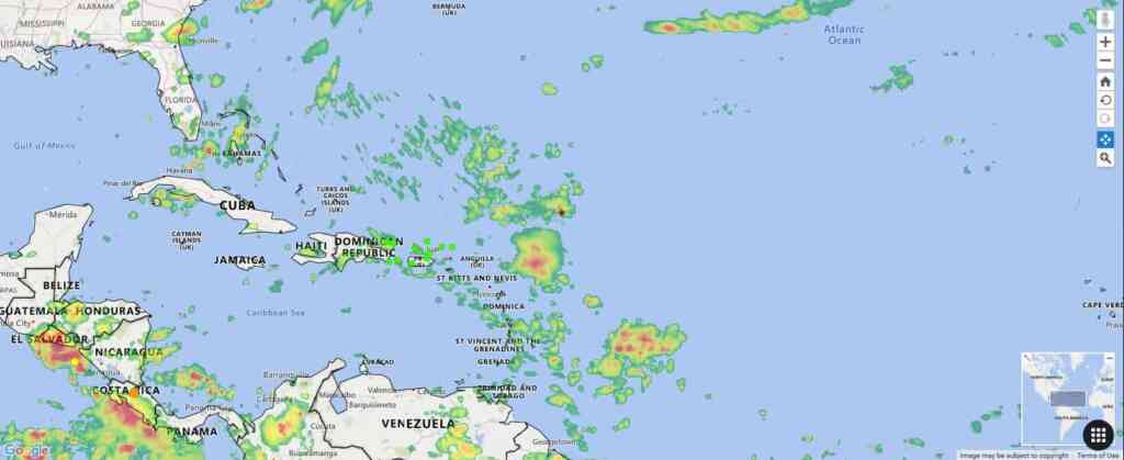 Are Hurricanes Or There Any Tropical Atlantic Or Active Caribbean Storms Today Gu