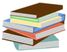 stack of books 01 clip art