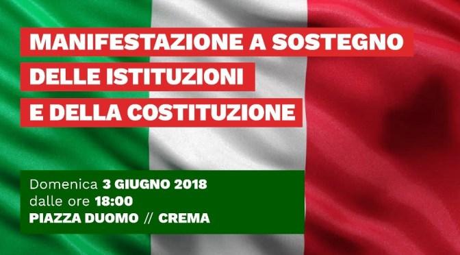 Domenica 3 giugno manifestazione a Crema