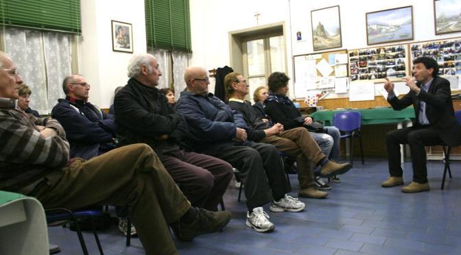 """Gianluca Galimberti a Bagnara (Cremona): """"Mappe georeferenziate in sinergia con associazioni di disabili"""""""