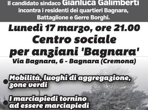 Galimberti a Bagnara. Lunedì 17 ore 21