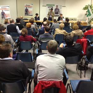 Galimberti con Balzani, sindaco di Forlì: 'Recuperare dimensione sociale della cultura'