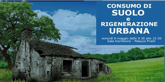 CREMA. Contenimento del consumo di suolo e riqualificazione dell'esistente. La proposta del PD in Lombardia e in Europa