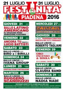 Programma Piadena