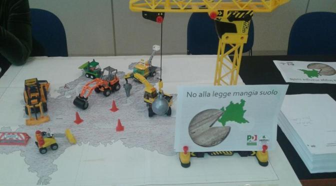 """Consumo di suolo, PD: """"No alla legge mangia suolo di FI, NCD e Lega"""""""