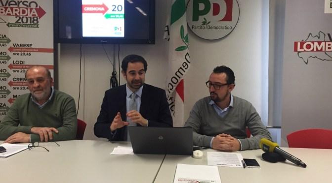 Riforma Istituzionale. Il PD regionale incontra le categorie lunedì 7 marzo a Cremona.