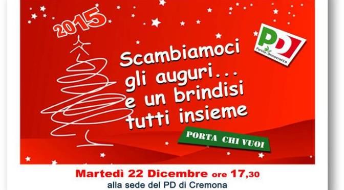 Scambiamoci gli auguri. Due i momenti organizzati dalla federazione: sabato 19 a Crema e Martedì 22 a Cremona.