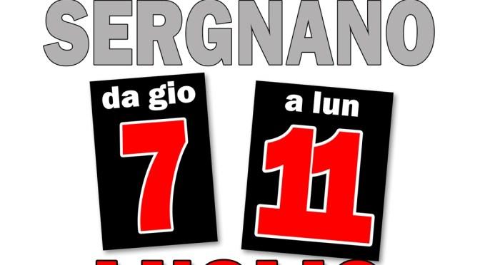 """Al """"via"""" la Festa de l'Unità di Sergnano, da giovedì 7 a lunedì 11 luglio presso il campo sportivo"""