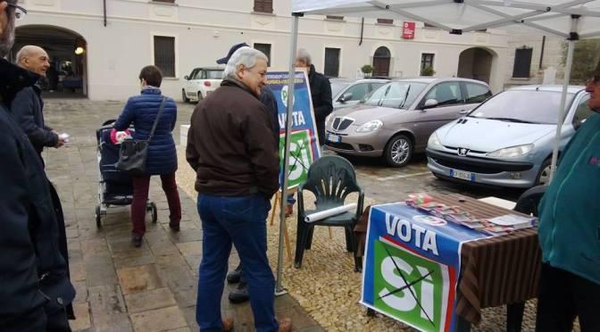 Basta un SI. Proseguono le iniziative e i banchetti del SI in provincia di Cremona