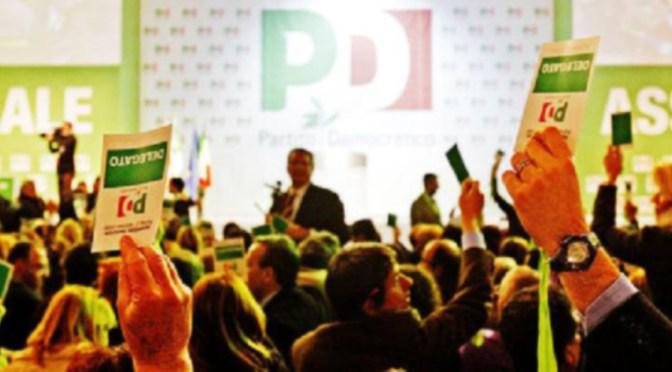 Lunedì 19 marzo Assemblea provinciale PD aperta a tutti gli iscritti